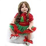 Reborn Dolls Girl, Lifelike Reborn Baby Dolls 24 Pulgadas 60 cm Reborn Babies Real Silicone Realista...