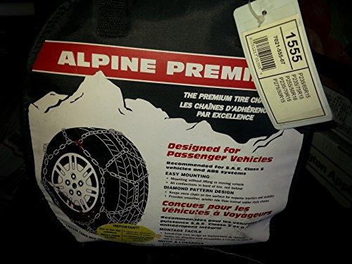 Laclede Chain 7021-555-07 Alpine Premier Passenger Car Tire Chains