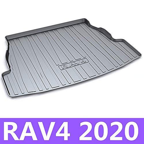 Alfombrilla para maletero de coche, alfombrilla de carga, bandeja para maletero, alfombra para piso para Toyota RAV4 2020 años TPO Material