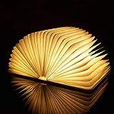 Lámpara de lectura LED plegable, lámpara de mesa o escritorio, luz de lectura, magnética, luz LED recargable por USB, portátil, lámpara de mesita de noche, luz decorativa, luz ambiental, gran regalo