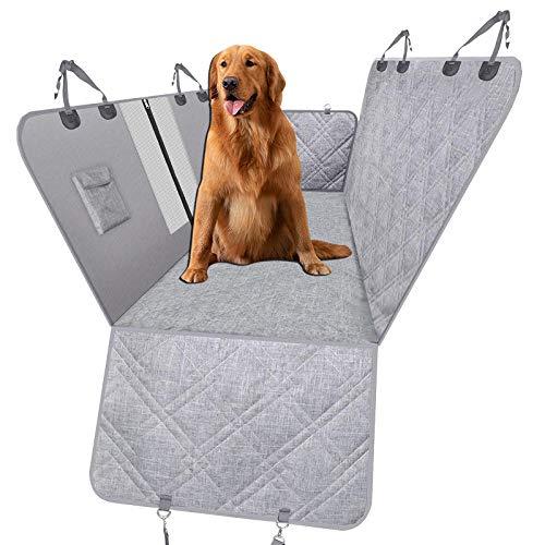 Perros Coche Gris Cama Perro Plastico Grande para Gatos Perros Pequeños Diseño de Ventanas Transpirables