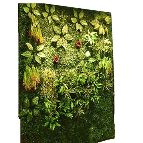 YNFNGXU Fake Leaf Realistic Green Plant Board Artificial Hedge Fence Pantalla De Privacidad Césped (39.37x39.37 Pulgadas) Interior Y Exterior Decoración De La Pared (Color : 02)