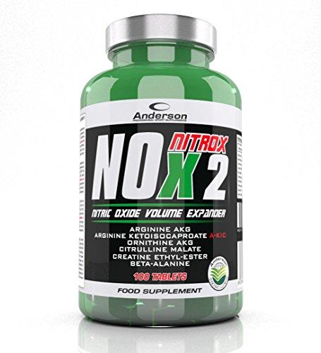 ✔️ IL TUO INTEGRATORE PREFERITO: NOX NITROX-2 è un integratore di aminoacidi con Arginina AlfaKetoGlutarato e Ketoisocaproato, Ornitina AKG, Citrullina Malato, Beta alanina, Creatina etil-estere e BIOVIS (Glucosamina oligosaccaride) ✔️ SINERGIA PERFE...