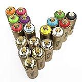 Montana Gold Matt Spray Paint Set de 6 Brights x 400 ml