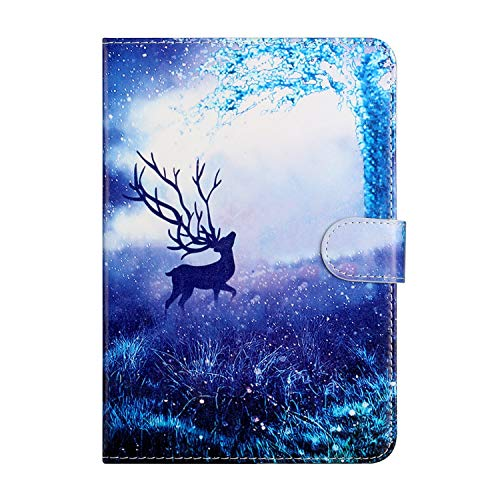 Universal Case for 7 Inch Tablet, Leather Stand Cover Protective Case for Fire 7, Huawei MediaPad T3 7', Fusion5 7', Galaxy Tab A 7.0, Lenovo Tab E7/Tab3 7 Essential, iPad Mini