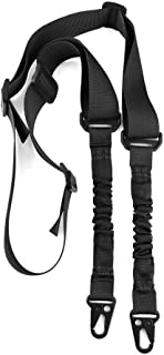 360 Tactical 2 Point Rifle Sling, Multi-Use Two Point Gun Sling with Length Adjuster for Hunting, Shooting Multi use QD Gun Slings