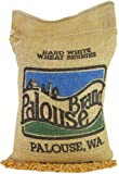 Hard White Wheat Berries • Non-GMO Project Verified • 5 LBS • 100% Non-Irradiated • Certified Kosher Parve • USA Grown • Field Traced • Burlap Bag