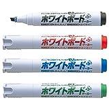 シヤチハタ ホワイトボードマーカー アートライン 潤芯 K-529/4W 4色セット