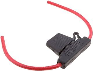 MagiDeal 1 Stück In Line Sicherungshalter mit 60A Maxi Blade Sicherung für alle Fahrzeuge