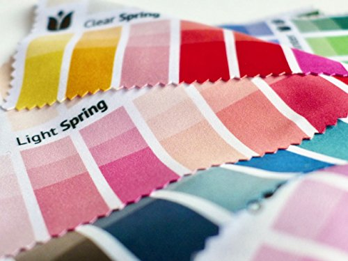 Handy Fabric Color Swatch Light (True) Summer with 30 Colors for Color Analysis and Image Consulting