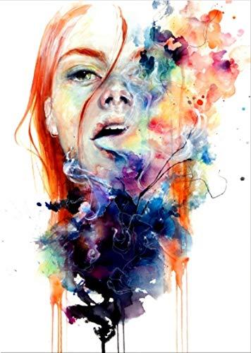 yuyu-beautiful Lora Zombie Big Bang Kuss Poster Und Drucke Leinwand Poster Wandkunst Und Kunst Leinwand Malerei Druckt Wandbild Für Wohnkultur 50X70Cm Ungerahmt