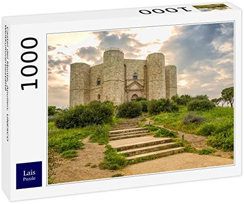 Lais Puzzle Castel del Monte, Puglia, Patrimonio Mondiale dell'UNESCO 1000 Pezzi