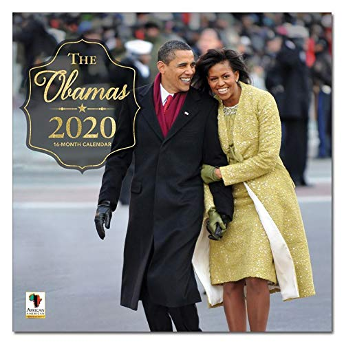 African American Expressions 2020 Wall Calendars - 2020-2021 Monthly Calendars Celebrating Black Culture & History - 12x12 Hanging Calendar - 16 Months - The Obamas