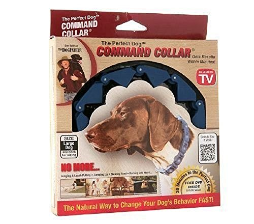 "Don Sullivan Perfect Dog Command Collar Pinch Training Free DVD & Links Included (Large 7""-24"