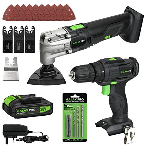 GALAX PRO Multi Purpose Tool and 2-Speed Drill, 1.3A...