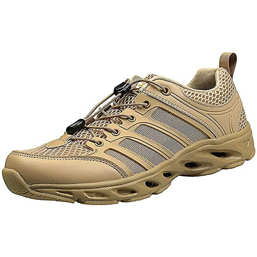 Botas Tobillo TáCticas para Hombre Botas Militares de Seguridad Impermeables Botas de Combate Entrenamiento Policial Zapatos Utilitarios de Trabajo Todo Terreno Antideslizantes Botas de Senderismo
