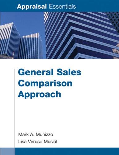 General Sales Comparison Approach (Appraisal Essentials)
