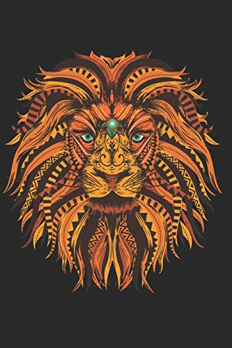 Schedule Planner 2020: Schedule Book 2020 with Lion Mandala Cover | Weekly Planner 2020 | 6