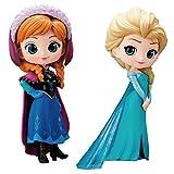 Q Posket Disney Characters - Frozen Anna & Elsa