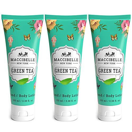 Maccibelle Green Tea Hand & Body Lotion 100 ml Made in Korea 3 pcs