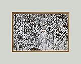 """Bev Doolittle - """"Woodland Encounter - 11 x 14 Matted Art Print Fits a Standard 11"""" x 14"""" Frame"""