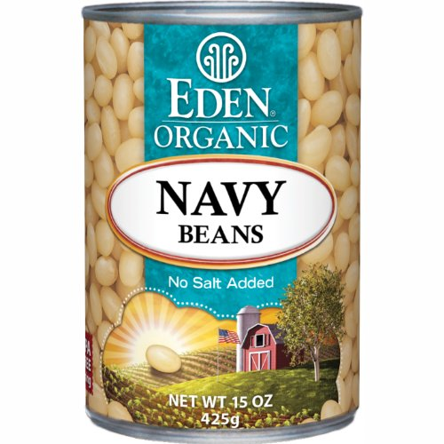 Organic no-salt white beans