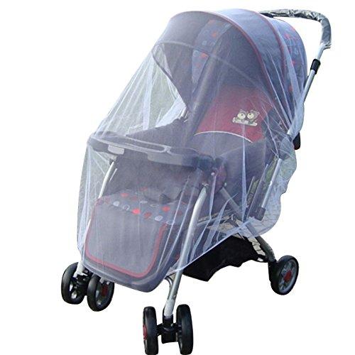 Verano Niños Trolley inalámbrico Net accesorios cortina coche manta de coche insectos el cuidado Bebe Nets de transporte