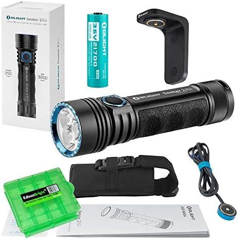 Olight Seeker 2 Pro USB Rechargeable 3200 Lumen LED Flashlight with Charging bracket Olight product image
