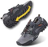 Rokiemen Scarpe da Trekking Arrampicata Uomo Sandali Sportivi Estivi Mesh All aperto Pescatore Piscina Acqua Mare Escursionismo Leggero Sneakers