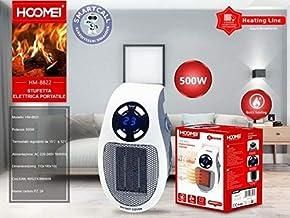 Mini estufa eléctrica portátil 500 W radiador Homemi – HM-8822
