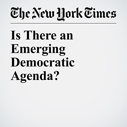 Is There an Emerging Democratic Agenda? copertina