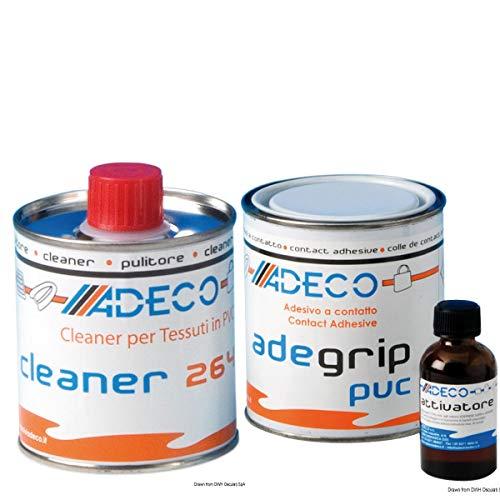 Profi Reparaturset 2 Komponenten 125 gr für Schlauchboote aus PVC incl. Knotentafel und Adeco Reiniger
