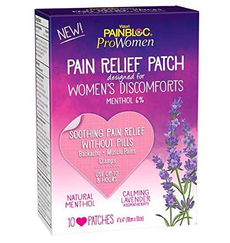 PainBloc24 ProWomen Pain Relief Patch (10 Heart...