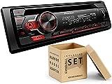 Pioneer DEH-S310BT 1-DIN Autoradio mit Bluetooth Musikstreaming Android für Ford Fiesta V Facelift JD3 2005-2008 schwarz