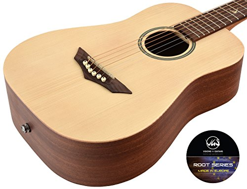 VGS Akustikgitarre RT-Voyage Root, Natural Satin, Open Pore