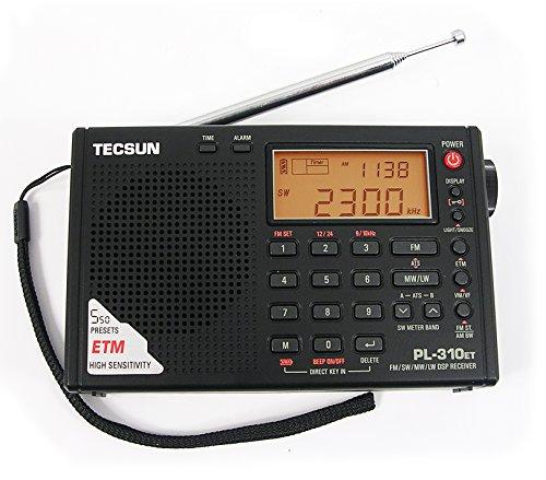 Tecsun PL-310ET FM-Stereo / SW / MW / LW DSP ETM-Radio Weltempfänger