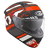 CASCO KYT NF-R ENERGY MATT ANTHR./RED - L