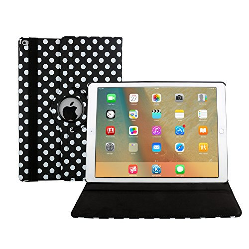 iPad Air Funda, Avril Tian 360 Grados Rotación Multi ángulos Protector de Pantalla Flip Magnético Inteligente Case Cover para Apple iPad Air 9.7 pulgada Tableta