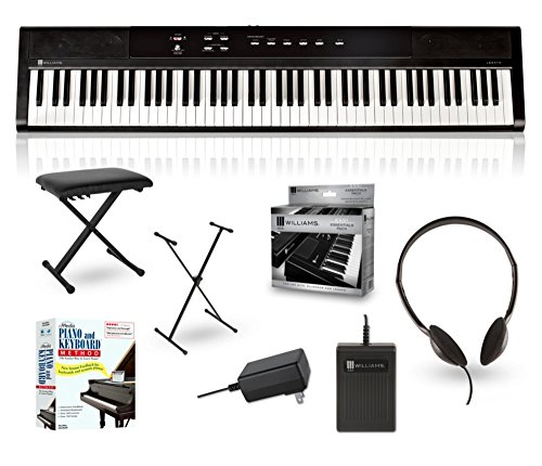 Williams Legato 88-Key Digital Piano Packages Beginner Package