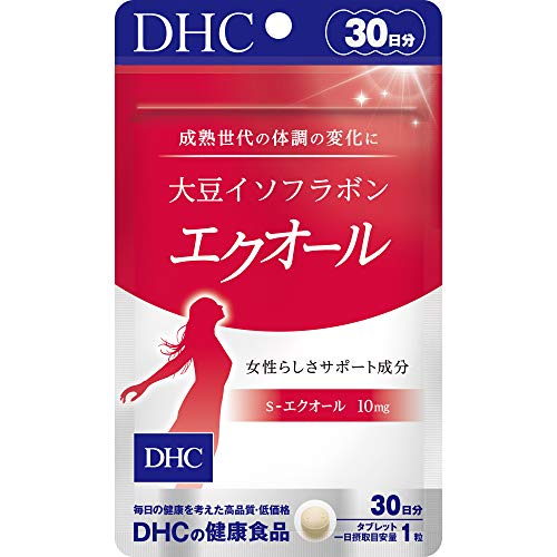 DHC 2個セット 大豆イソフラボン エクオール 30日分×2袋