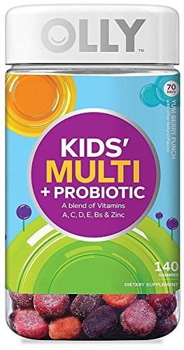 Olly Kids Multi + Probiotic A Blend of Vitamins, 140 Gummies