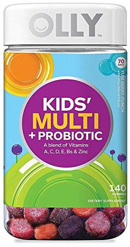 Olly Kids Multi + Probiotic A Blend of Vitamins, 140 Gummies