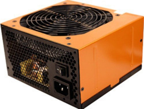 RASURBO Netzteil GAP767 V2 750W GaminXPower Oranges Designgehaeuse 6xSATA 2xPCIe 6+2pin 5xHDD 120mm Silentluefter PFC GreenPower
