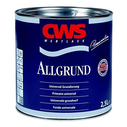 CWS Allgrund RAL 7001 silbergrau Rostschutz Heizkörper Lack Grundierung silber