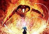 My Little Poster Plakat Balrog Gandalf Kampf Lord DER Ringe