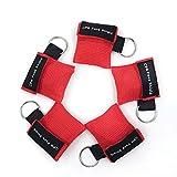 CPR Maschera Portachiavi anello Kit d'emergenza Salvare Scudi viso Schermi di faccia con b...