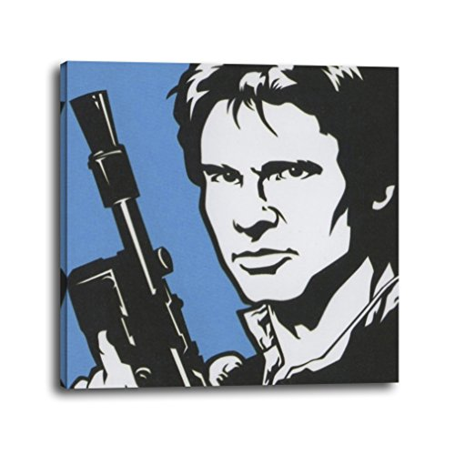 RuidoRosa Cuadro Star Wars Han Solo Pop Art (25x25)