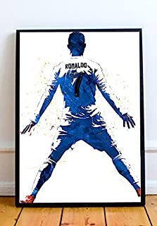 Cristiano Ronaldo Limited Poster Artwork - Professional Wall Art Merchandise (More Sizes Available) (8x10)