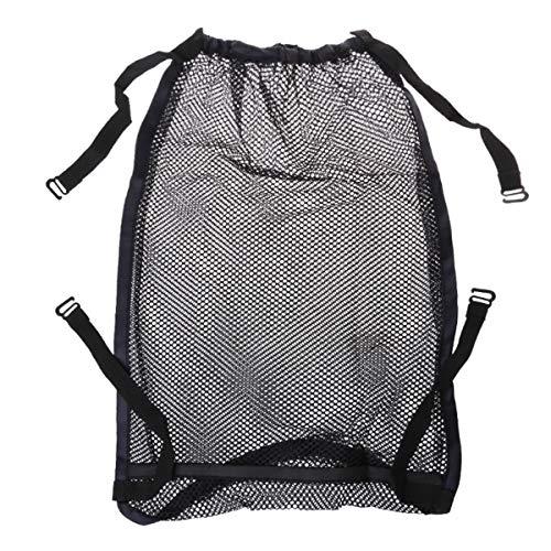 SOONHUA Bolsa organizadora para cochecito de bebé con bolsillo de malla para colgar (bolsa de malla para cochecito de bebé solamente) 35 x 50 cm