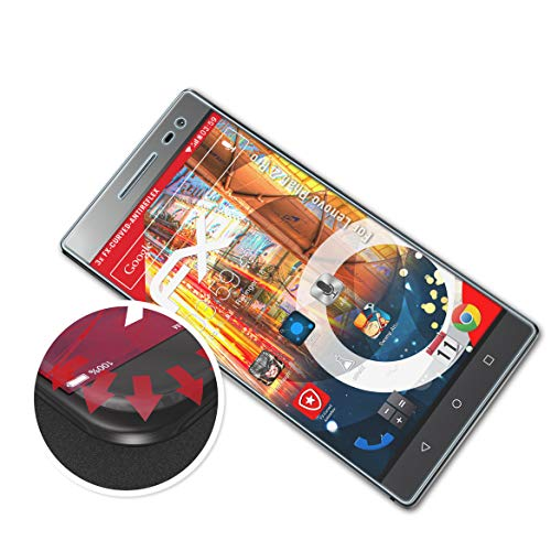 atFolix Schutzfolie kompatibel mit Lenovo Phab 2 Pro Folie, entspiegelnde & Flexible FX Bildschirmschutzfolie (3X)